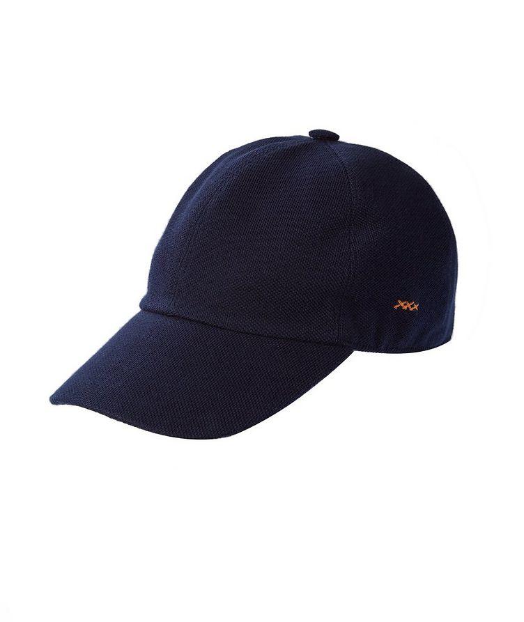 Couture Piqué Cotton Baseball Cap image 0