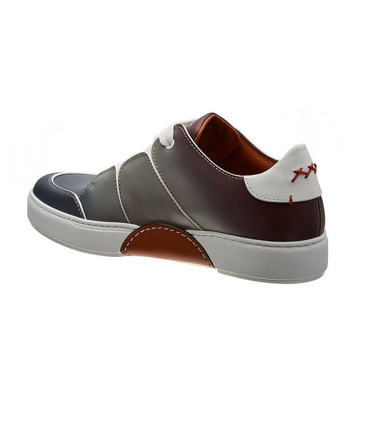 Chaussure sport Tiziano en cuir de veau, collection Couture image 1