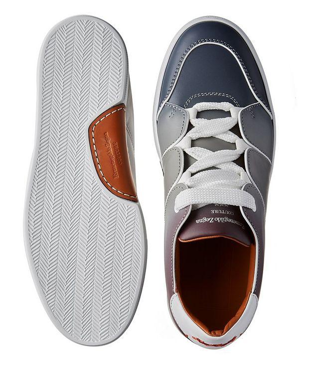 Chaussure sport Tiziano en cuir de veau, collection Couture picture 3