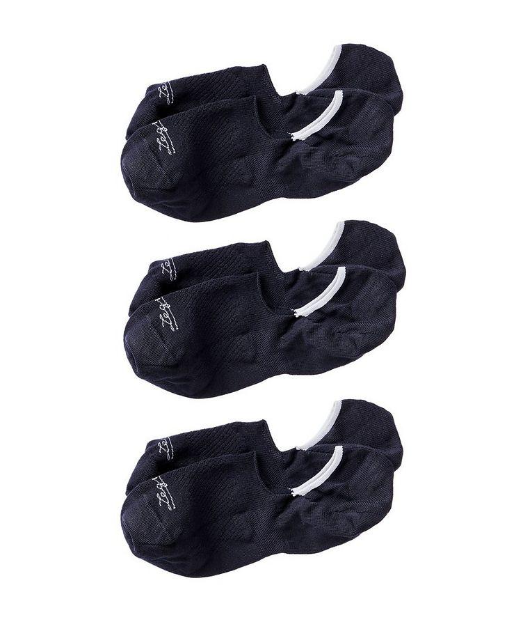3-Pack No-Show Lyocell-Blend Socks image 0