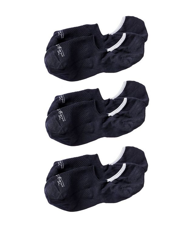 3-Pack No-Show Lyocell-Blend Socks picture 1