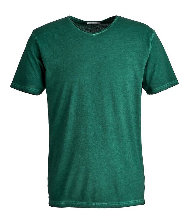 T-shirt Milo en coton pima à encolure en V picture 1