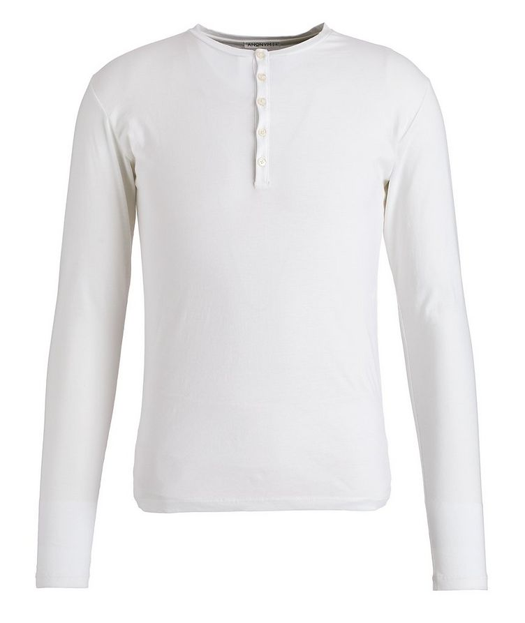 Paul Pima-Cotton Henley image 0