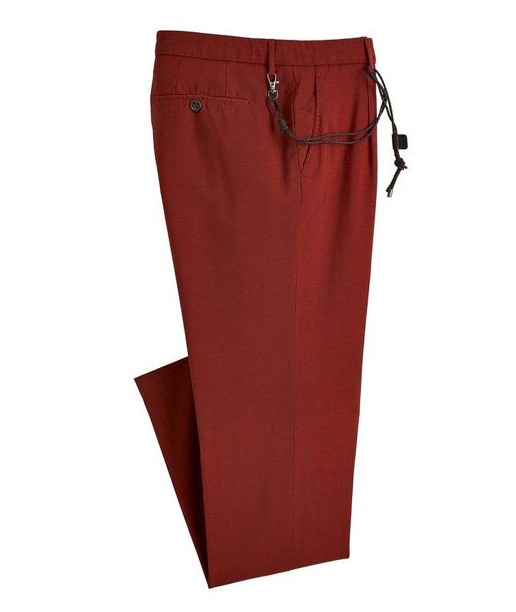 Morello Slim-Fit Wool Pants image 0