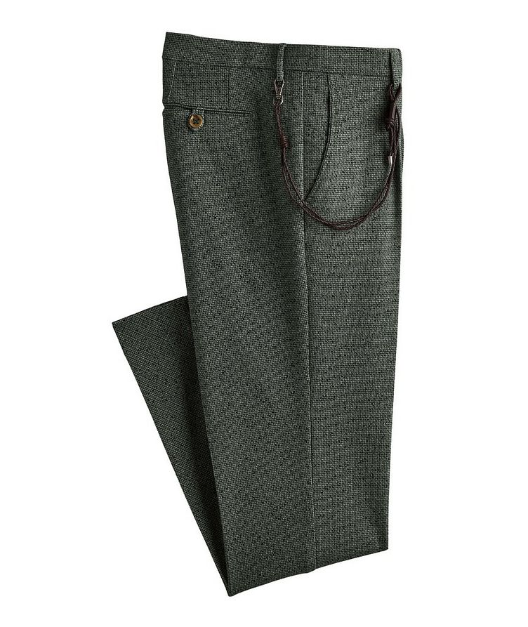 Morello Printed Cotton-Blend Dress Pants image 0