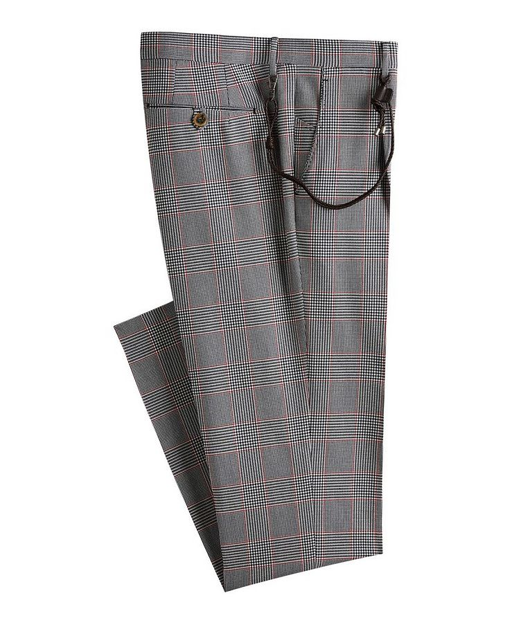 Morello Glen Check Cotton Dress Pants image 0