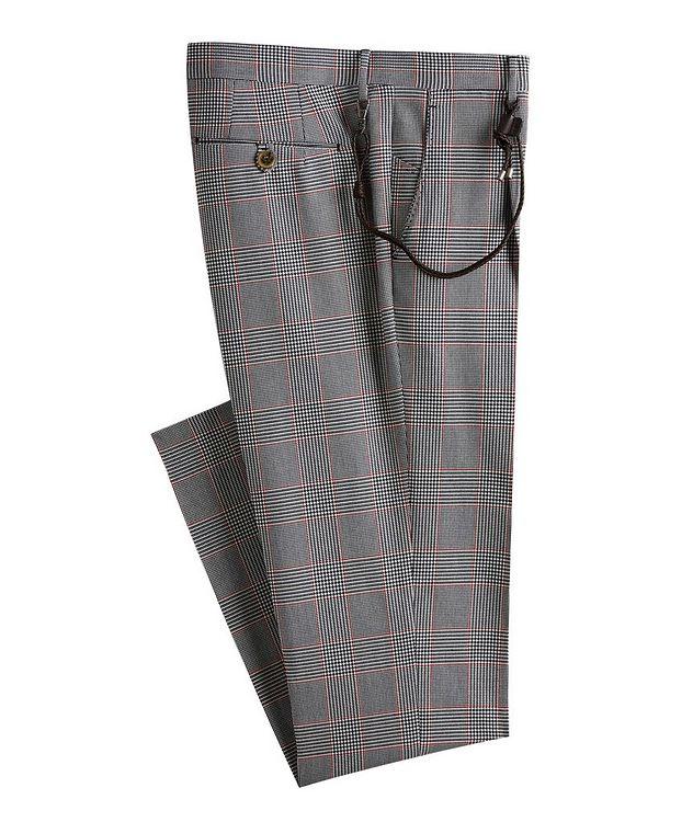 Morello Glen Check Cotton Dress Pants picture 1