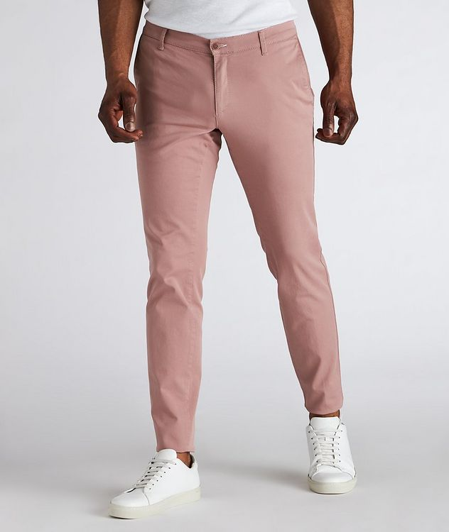 Silvio Stretch-Cotton Pants picture 2