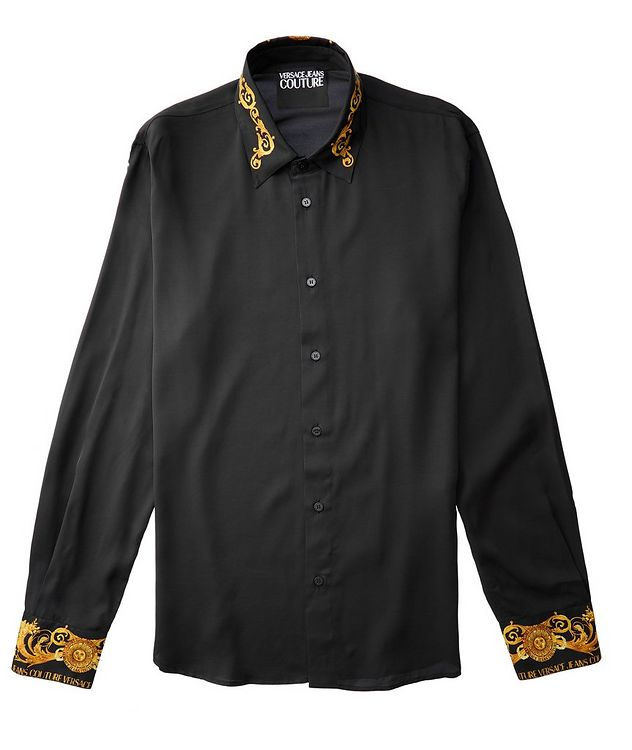 Slim-Fit Baroque Shirt picture 2