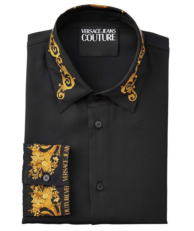 Slim-Fit Baroque Shirt picture 1