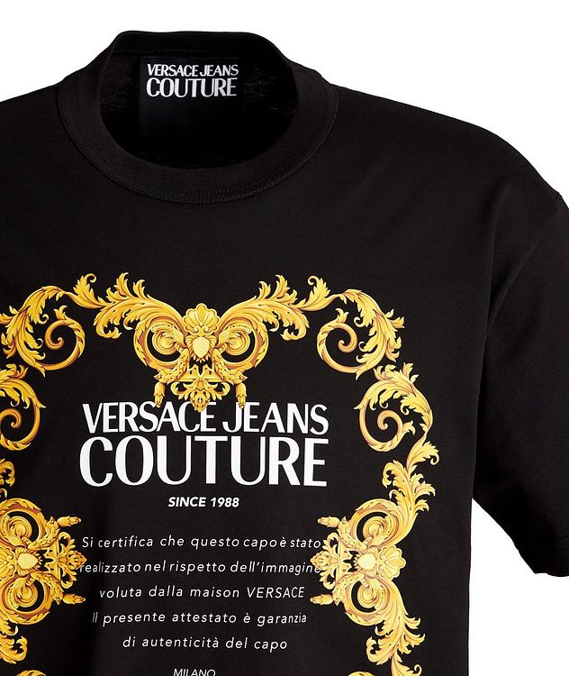Logo Graphic Cotton T-Shirt picture 2