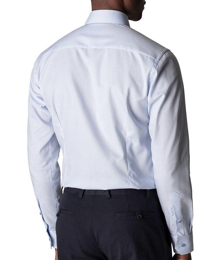 Slim-Fit Textured Dress Shirt image 2