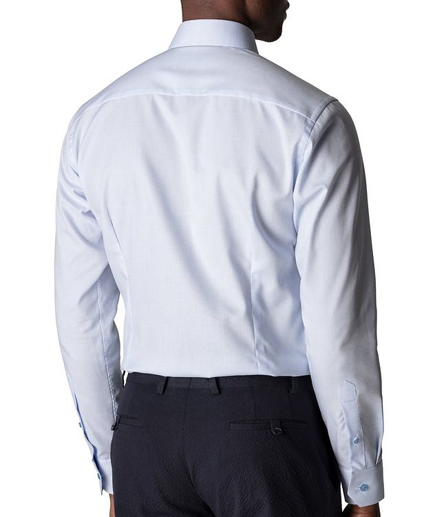 Slim-Fit Textured Dress Shirt picture 3