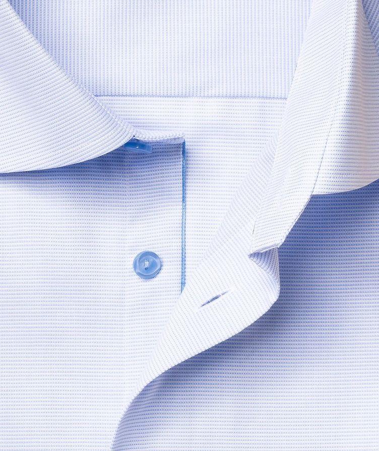 Slim-Fit Textured Dress Shirt image 5