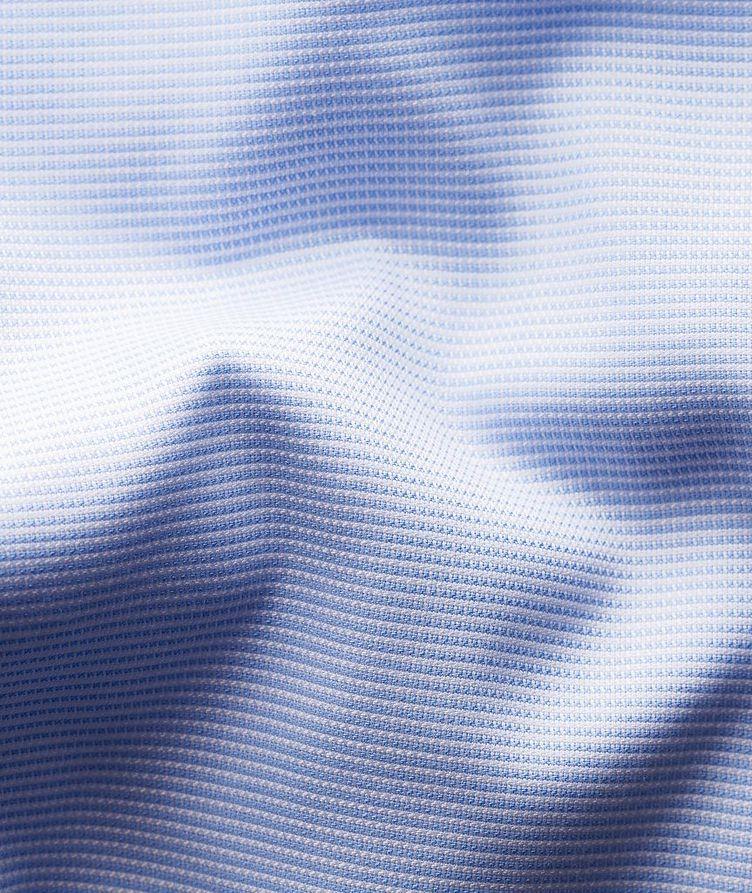 Slim-Fit Textured Dress Shirt image 6