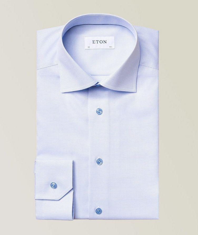 Slim-Fit Textured Dress Shirt image 0