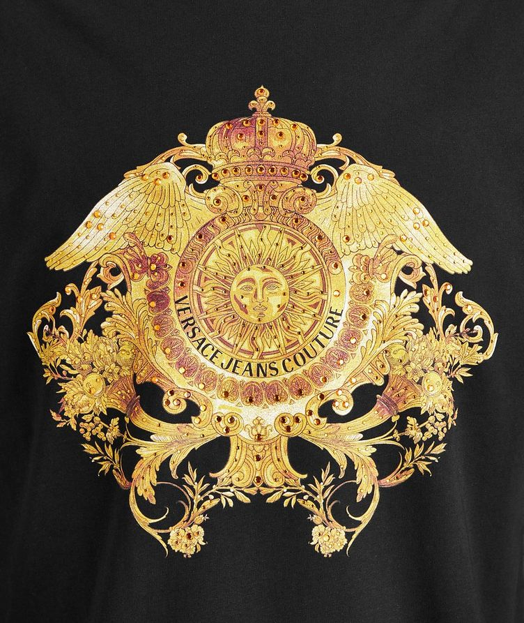 Crystal Baroque Cotton T-Shirt image 1