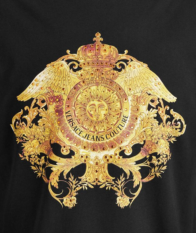 Crystal Baroque Cotton T-Shirt picture 2