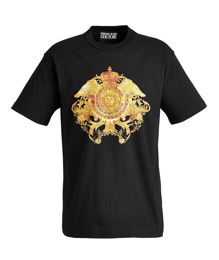 Crystal Baroque Cotton T-Shirt image 0