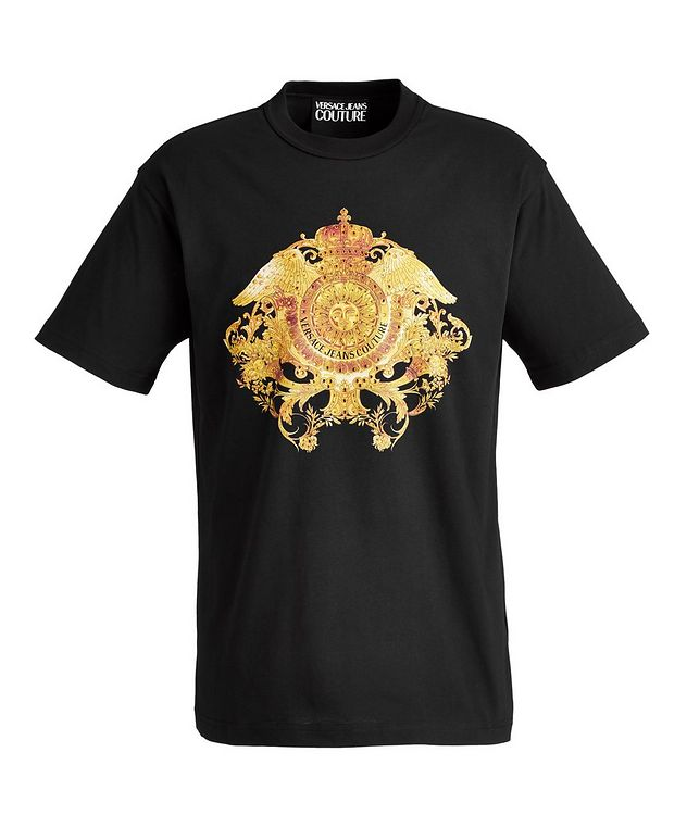 Crystal Baroque Cotton T-Shirt picture 1