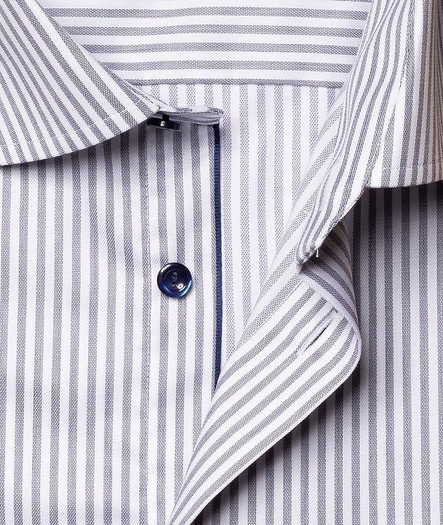 Slim Fit Striped Dress Shirt picture 3