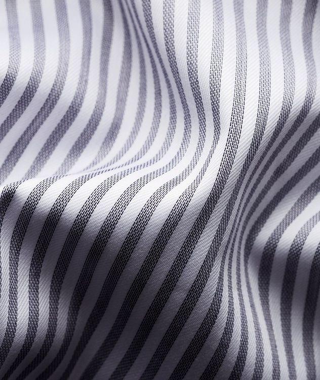 Slim Fit Striped Dress Shirt picture 4