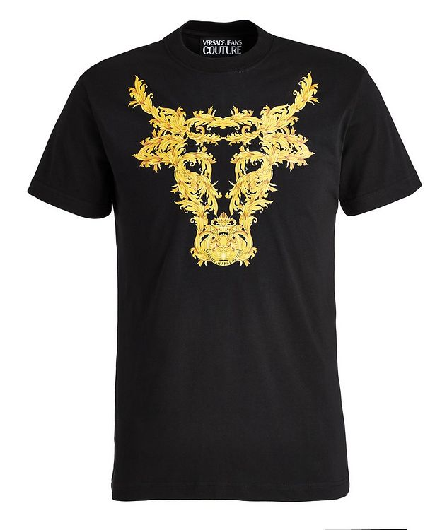 Baroque Bull Cotton T-Shirt picture 1