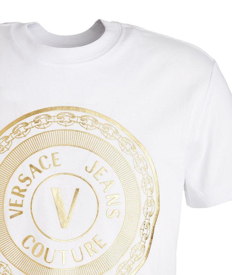 Foil Logo Cotton T-Shirt image 1