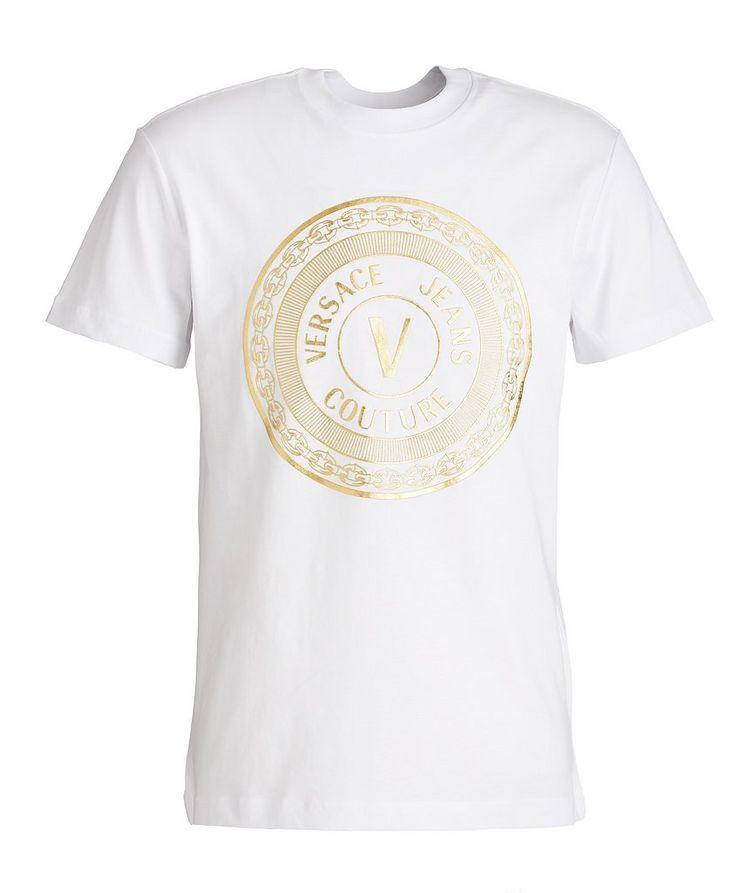 Foil Logo Cotton T-Shirt image 0