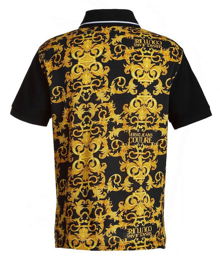 Baroque Piqué Cotton Polo image 2
