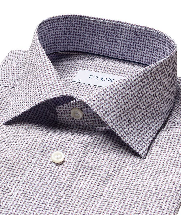 Contemporary Fit Mini Paisley Dress Shirt image 1