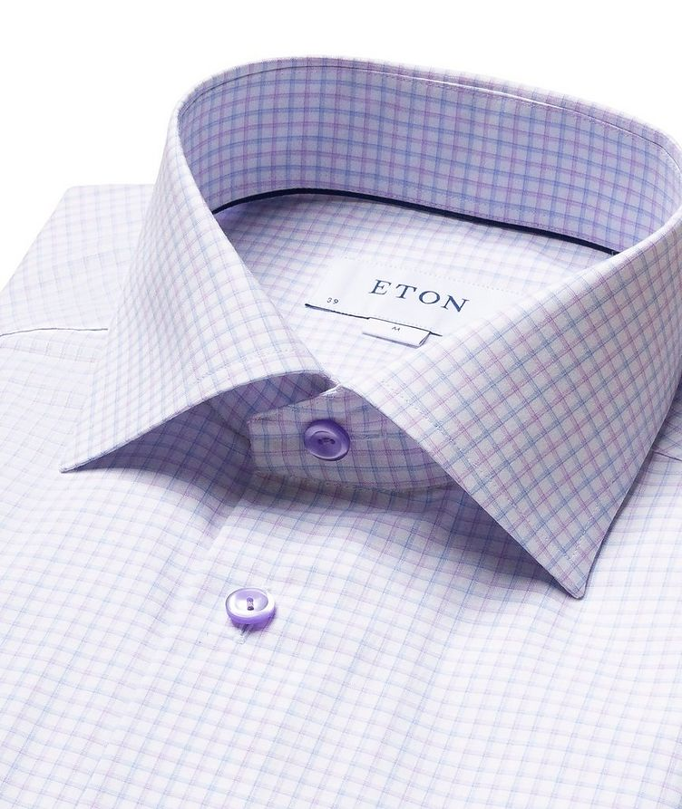 Contemporary Fit Check Dress Shirt image 1