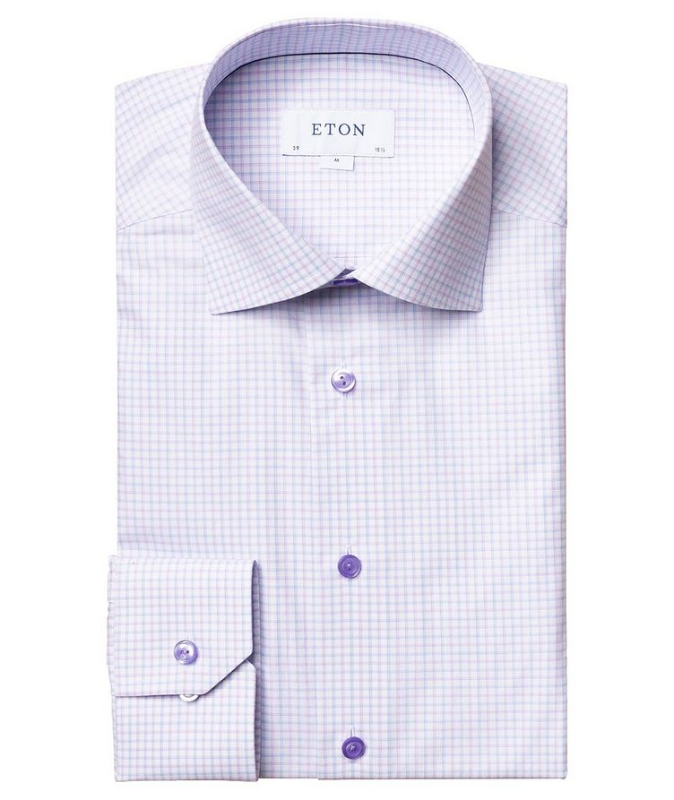 Contemporary Fit Check Dress Shirt image 0