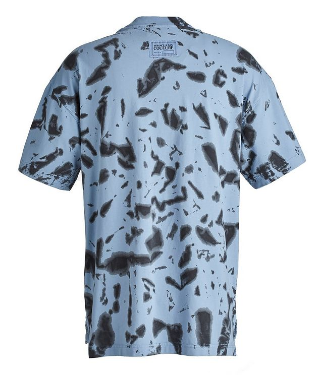 Hey Reilly Graphic Tie-Dye Cotton T-Shirt picture 2
