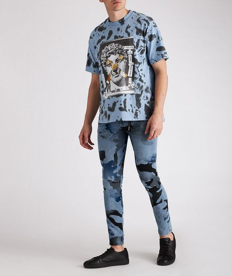 Hey Reilly Graphic Tie-Dye Cotton T-Shirt image 2