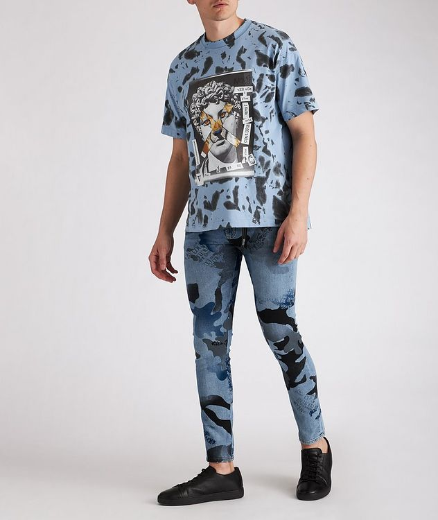 Hey Reilly Graphic Tie-Dye Cotton T-Shirt picture 3