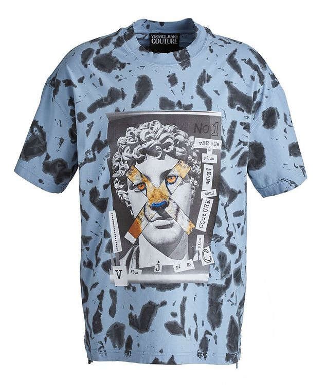 Hey Reilly Graphic Tie-Dye Cotton T-Shirt picture 1