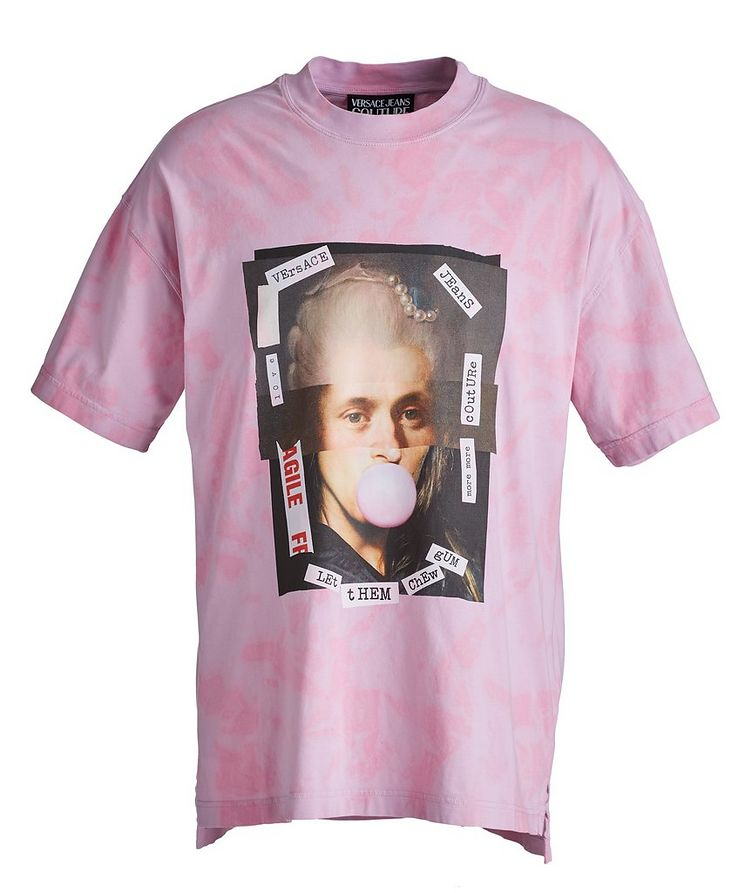 Hey Reilly Graphic Tie-Dye Cotton T-Shirt image 0
