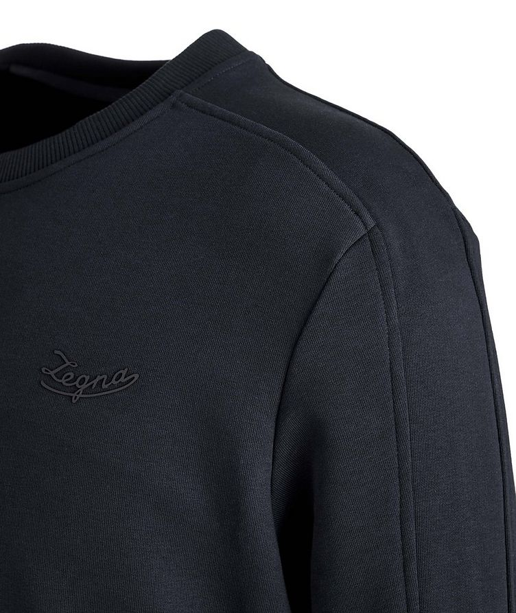 Stretch-Cotton Sweatshirt image 1