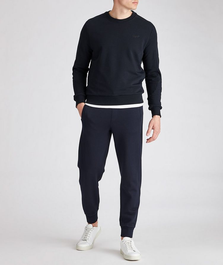 Stretch-Cotton Sweatshirt image 2