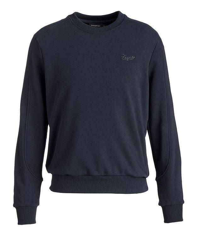 Stretch-Cotton Sweatshirt picture 1