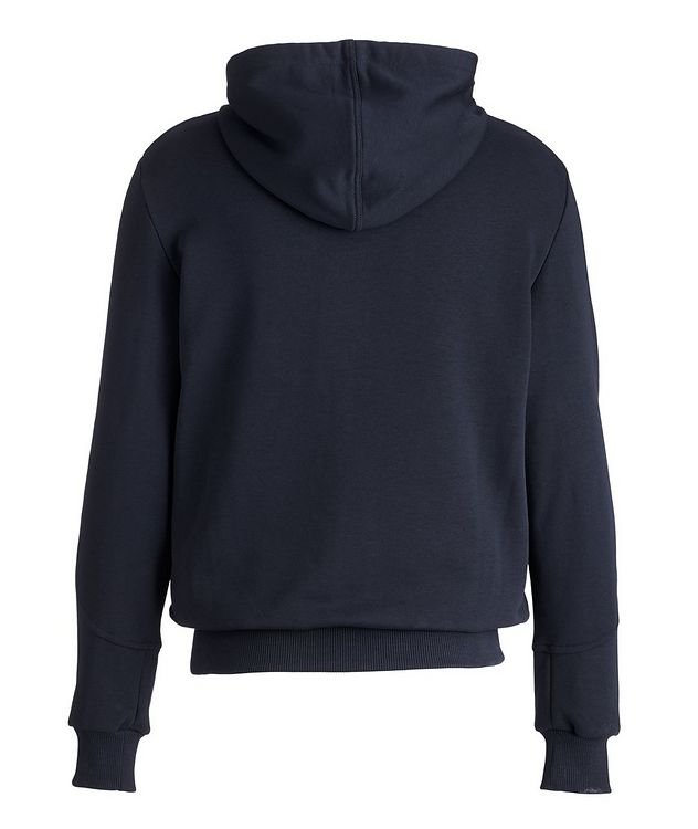 Stretch-Cotton Zip-Up Hoodie picture 2