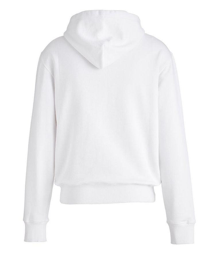 Baroque Cotton Terrycloth Zip-Up Hoodie image 1