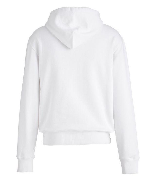 Baroque Cotton Terrycloth Zip-Up Hoodie picture 2