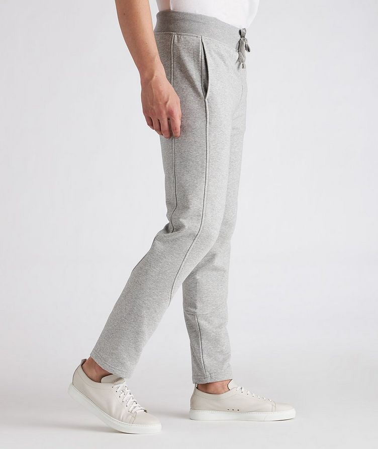 Stretch-Cotton Joggers image 4