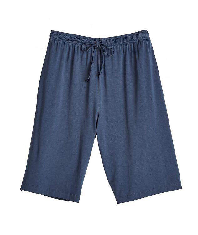 Short-Sleeve Stretch-Modal V-Neck Pyjamas picture 2