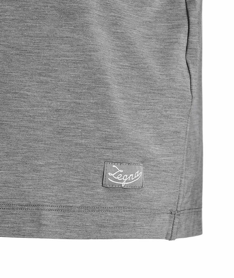 Short-Sleeve Stretch-Modal V-Neck Pyjamas image 2