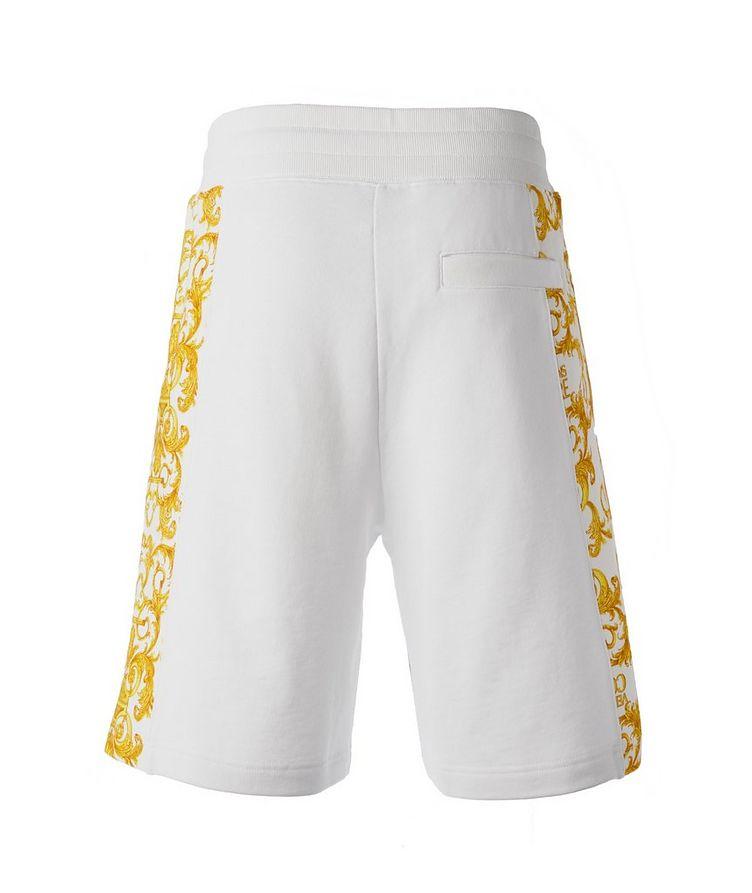 Cotton Terrycloth Baroque Shorts image 1