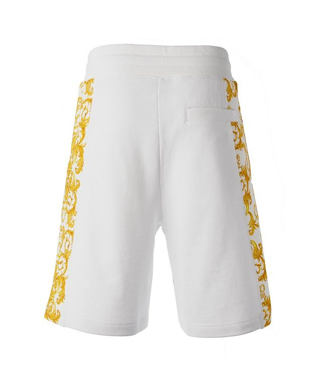 Cotton Terrycloth Baroque Shorts picture 2
