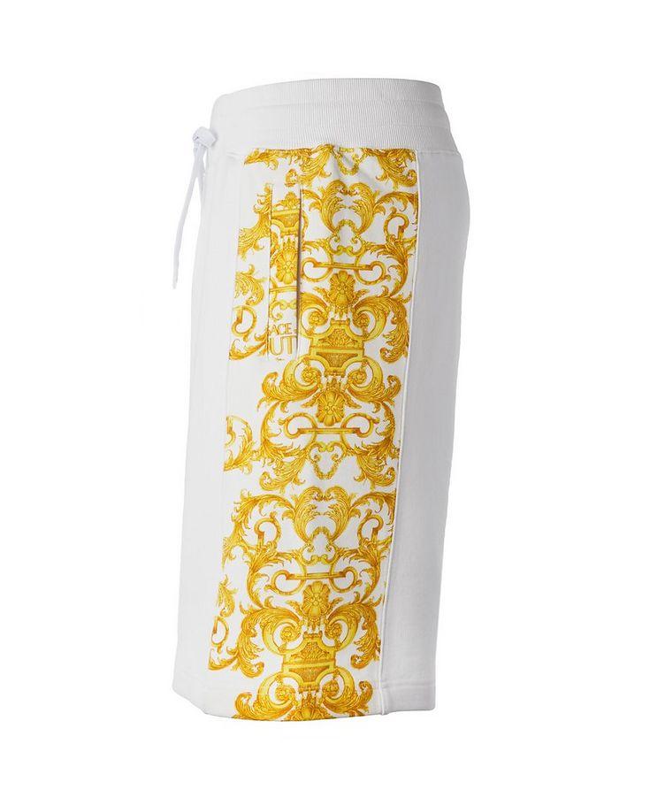 Cotton Terrycloth Baroque Shorts image 2